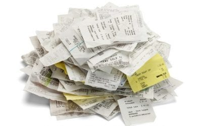 Three Organizing Tips to Keep Receipts Under Control