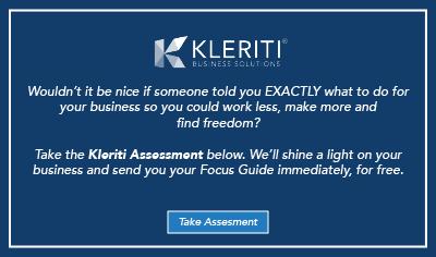 Get your Kleriti Assessment