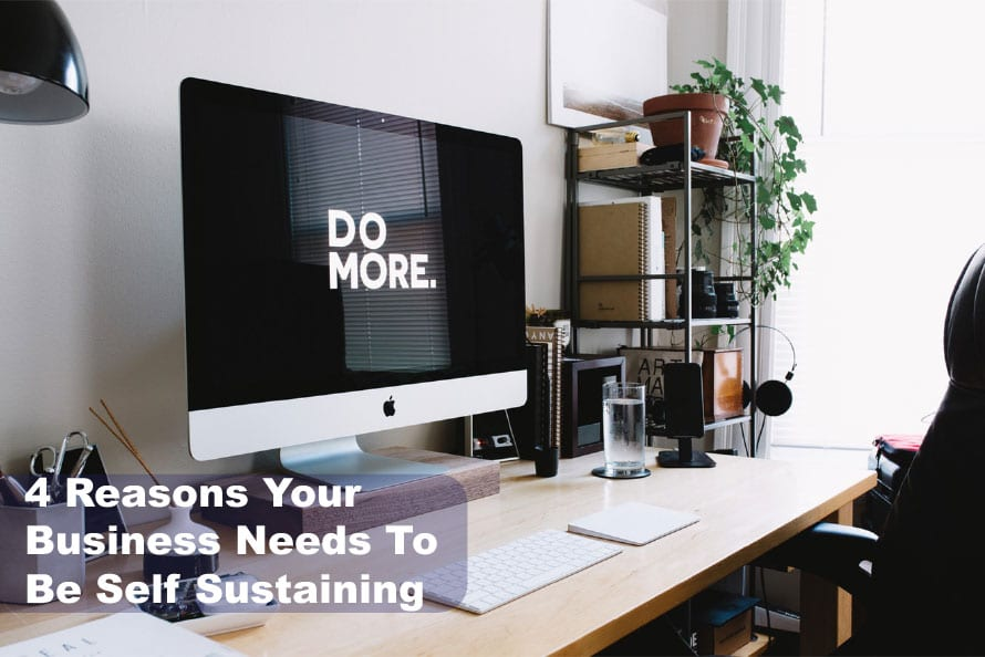 4 Reasons Your Business Needs To Be Self Sustaining