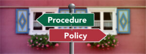 policies vs procedures what is the difference