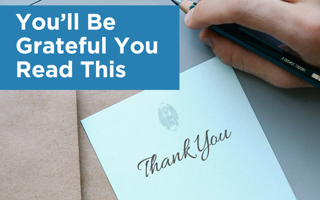 You'll Be Grateful You Read This…